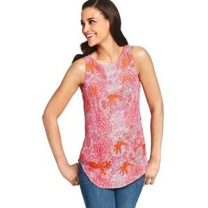 CAbi Jubilee Paisley Sleeveless Top